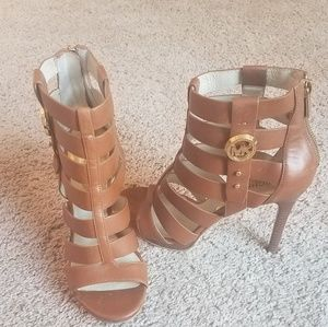 Authentic Michael Kors caged heels